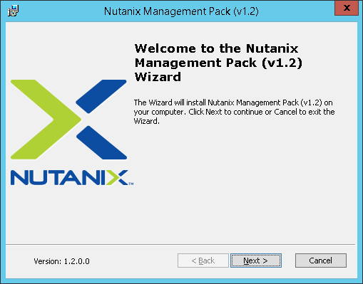 SCOM02 Nutanix SCOM Management Pack