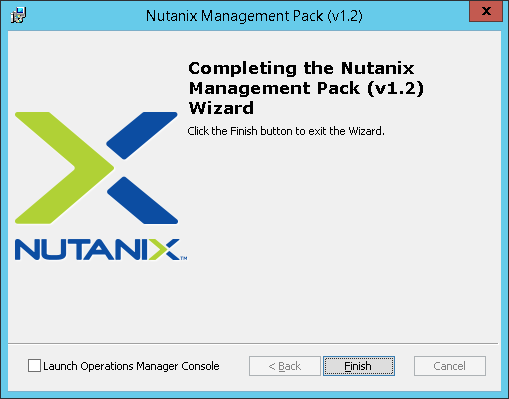 SCOM04 Nutanix SCOM Management Pack