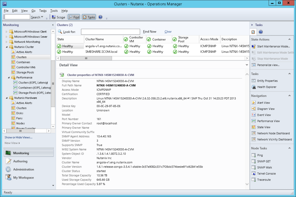 SCOM06 Nutanix SCOM Management Pack