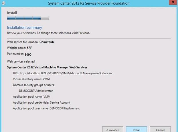 spf12 Service Provider Foundation