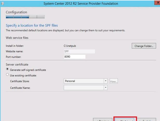 spf7 Service Provider Foundation